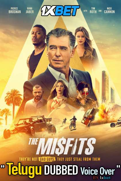 The Misfits (2021) Telugu Dubbed (Voice Over) & English [Dual Audio] WebRip 720p [1XBET]
