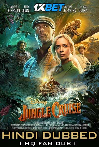 Download Jungle Cruise (2021) WebRip 720p Dual Audio [Hindi HQ Dubbed + English] [Full Movie] Full Movie Online On 1xcinema.com