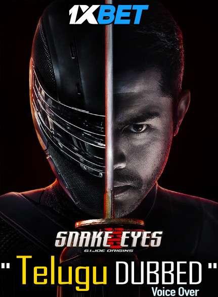 Download Snake Eyes (2021) Telugu Dubbed (Voice Over) & English [Dual Audio] CAMRip 720p [1XBET] Full Movie Online On 1xcinema.com