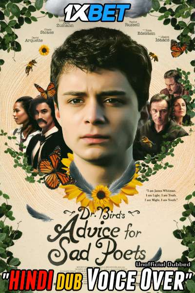 Dr. Bird's Advice for Sad Poets (2021) Hindi (Voice Over) Dubbed+ English [Dual Audio] WebRip 720p [1XBET]