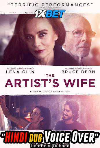 The Artist's Wife (2019) WebRip 720p Dual Audio [Hindi (Voice Over) Dubbed + English] [Full Movie]