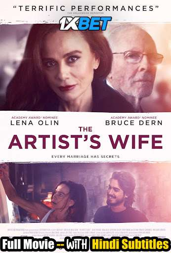 The Artist's Wife (2019) WebRip 720p Full Movie [In English] With Hindi Subtitles