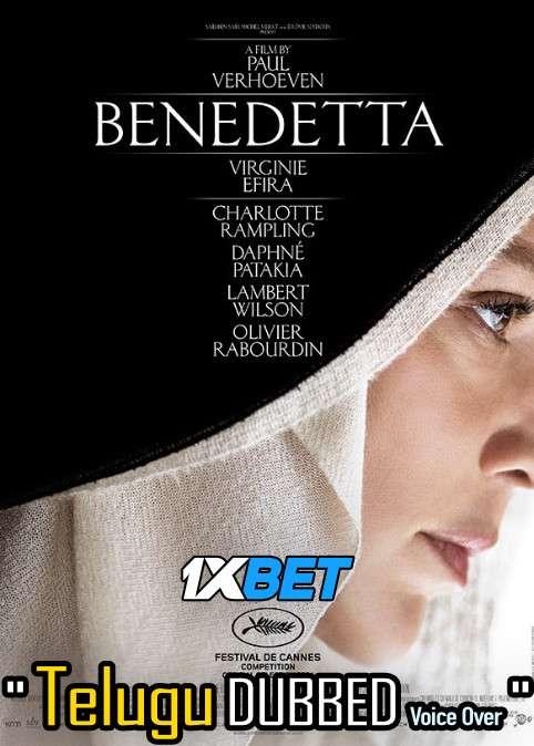 Download Benedetta (2021) Telugu Dubbed (Voice Over) & English [Dual Audio] CAMRip 720p [1XBET] Full Movie Online On 1xcinema.com