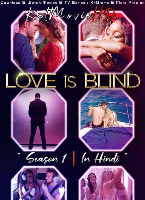 Love Is Blind (Season 1) Dual Audio [ Hindi 5.1 – English ] 480p 720p HDRip   Love Is Blind (Reality Show) Netflix Series