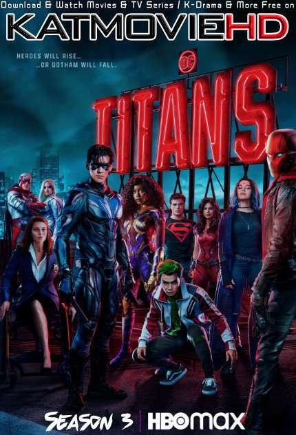 DC's Titans: Season 3 WEB-DL 720p HEVC [ In English + ESUBS ]  [Episode 5 Added !] | TV Series
