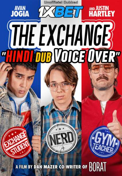 Download The Exchange (2021) WebRip 720p Dual Audio [Hindi (Voice Over) Dubbed + English] [Full Movie] Full Movie Online On 1xcinema.com