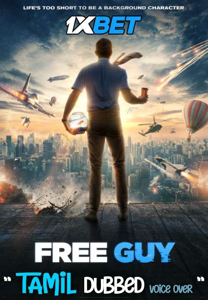 Free Guy (2021) Tamil Dubbed (Voice Over) & English [Dual Audio] Web-DL 720p HD [1XBET]