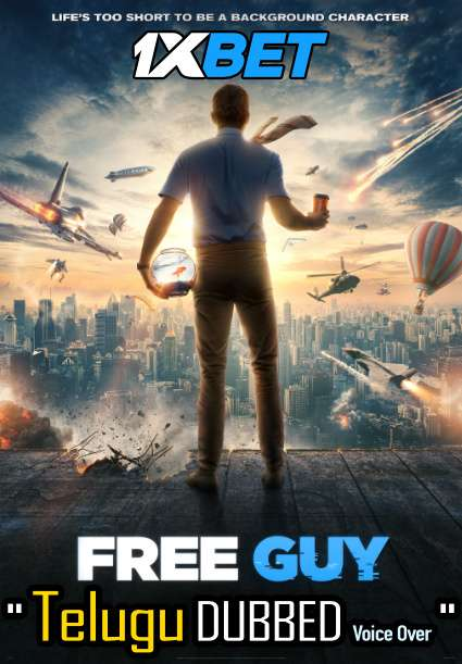 Free Guy (2021) Telugu Dubbed (Voice Over) & English [Dual Audio] WEBRip 720p HD [1XBET]