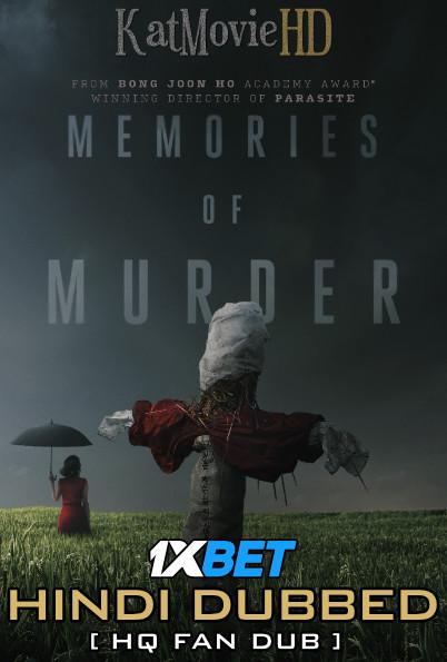 Memories of Murder (2003) Hindi (HQ Fan Dubbed) + Korean [Dual Audio] BluRay 1080p 720p 480p [1XBET]