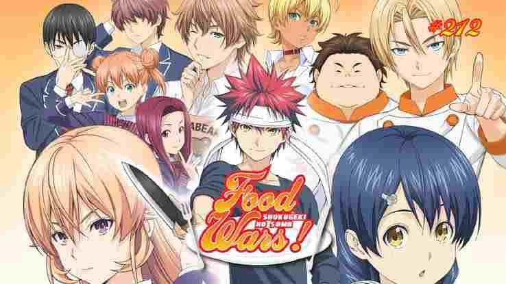 Food Wars (Season 01) (Shokugeki no Soma) (2015) [Eng Sub] Download