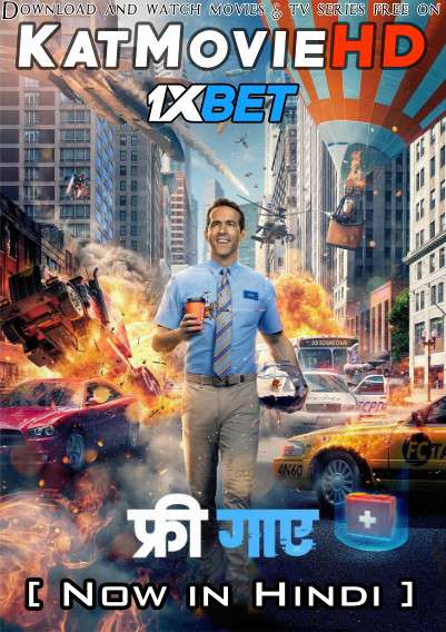 Free Guy (2021) Hindi Dubbed (Cam Audio) & English (ORG) [Dual Audio] Web-DL 1080p 720p 480p HD – 1XBET