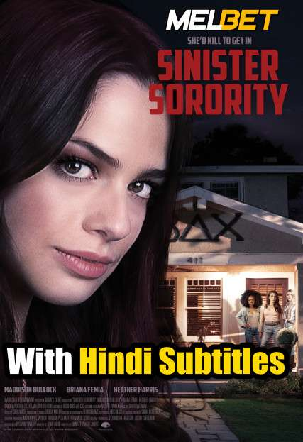 Sinister Sorority (2021) Full Movie [In English] With Hindi Subtitles | WebRip 720p [MelBET]
