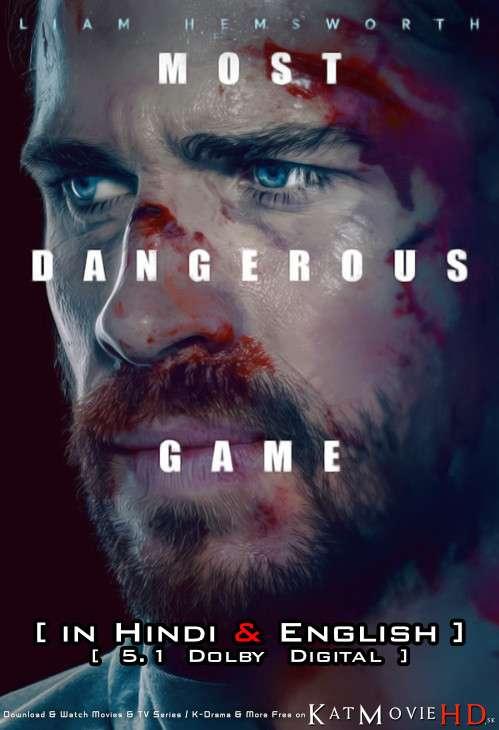 Most Dangerous Game (2020) Hindi Dubbed (ORG 5.1 DD) [Dual Audio] WEB-DL 1080p 720p 480p HD [Full Movie]