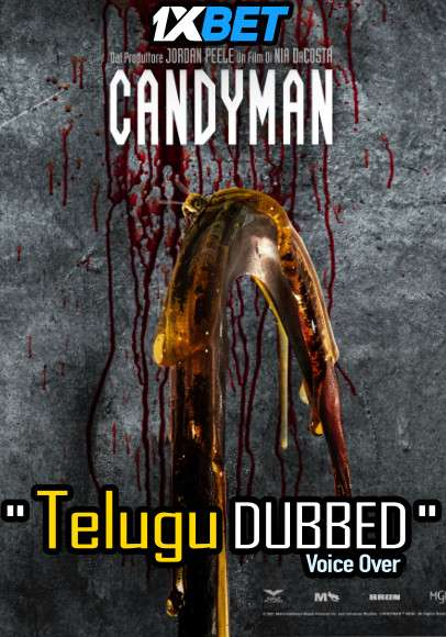 Candyman (2021) Telugu Dubbed (Voice Over) & English [Dual Audio] WebRip 720p [1XBET]