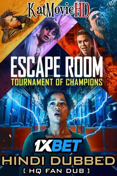 Escape Room: Tournament of Champions (2021) [Dual Audio] Hindi (HQ Fan Dubbed) WEB-DL 1080p 720p 480p [HD]