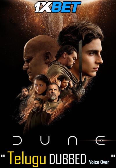 Dune (2021) Telugu Dubbed (Voice Over) & English [Dual Audio] CAMRip 720p [1XBET]