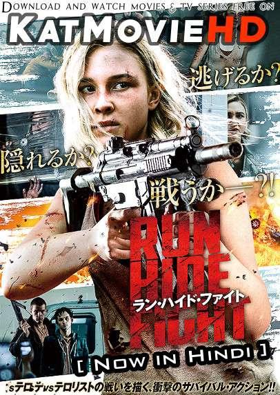 Run Hide Fight (2020) Hindi Dubbed (ORG 2.0 DD) [Dual Audio] BluRay 1080p 720p 480p HD [Full Movie]