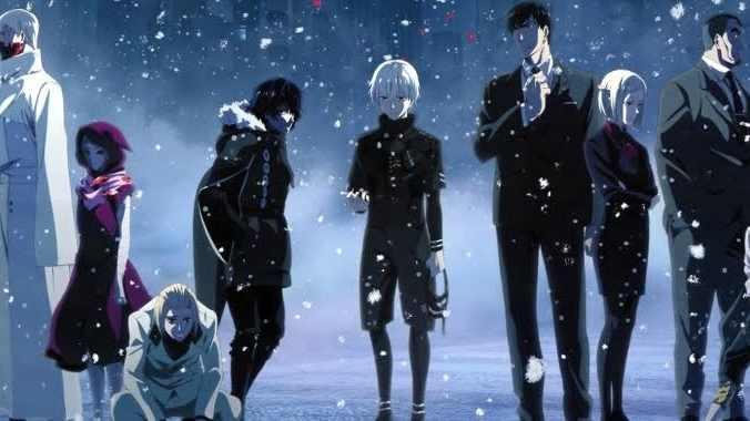 Tokyo Ghoul Complete Seasons 1-4 Download English Subtitles Dual Audio