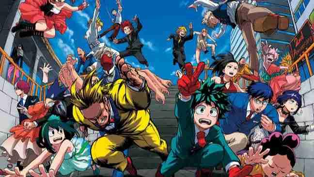 My Hero Academia Season 4 Download Dual Audio Eng Sub