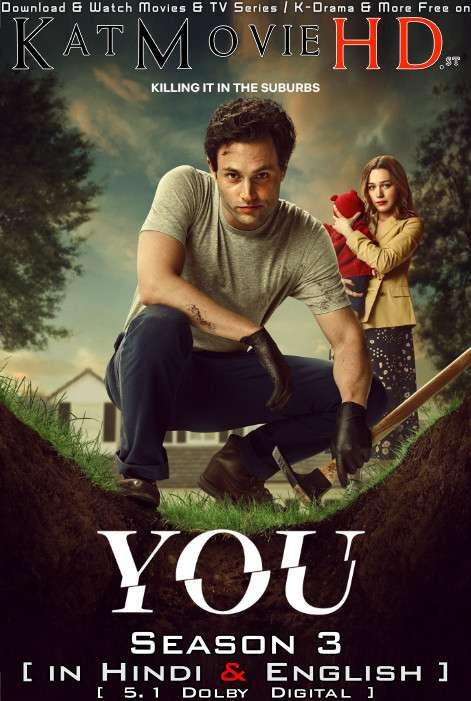You (Season 3) Hindi Dubbed NF [Dual Audio] All Episodes | WEB-DL 1080p 720p 480p HD [2021 Netflix Series]