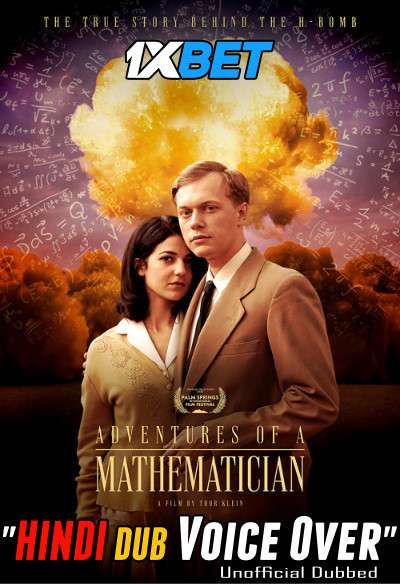 Adventures of a Mathematician (2020) Hindi (Voice Over) Dubbed+ English [Dual Audio] WebRip 720p [1XBET]